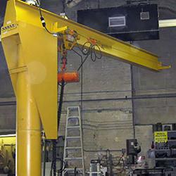 distributor jib cranes